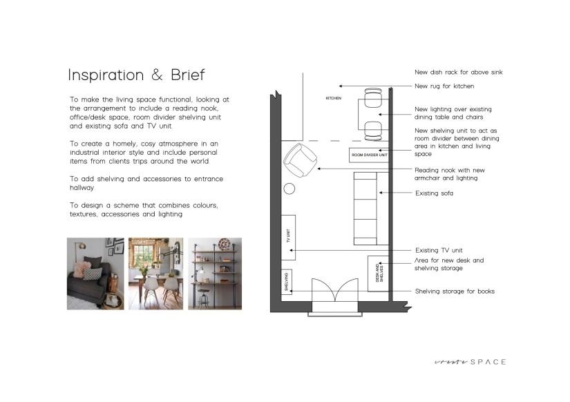 Austen House - DESIGN PRESENTATION 1a plan and brief